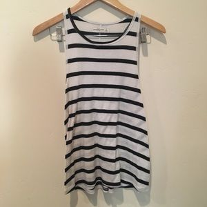 Abercrombie and Fitch striped tank top